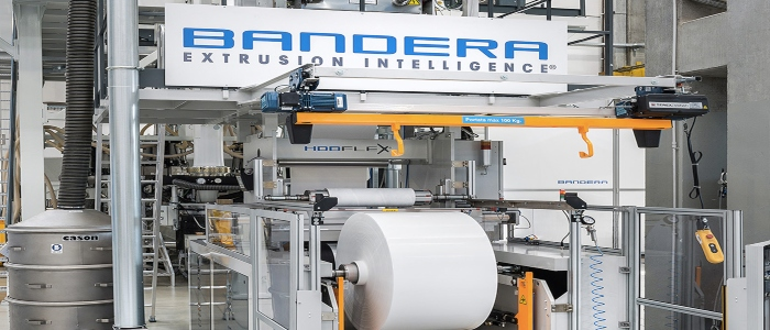 Image of Bandera co extrusion line
