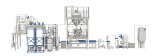 image of Bandera bottle to bottle recycling line